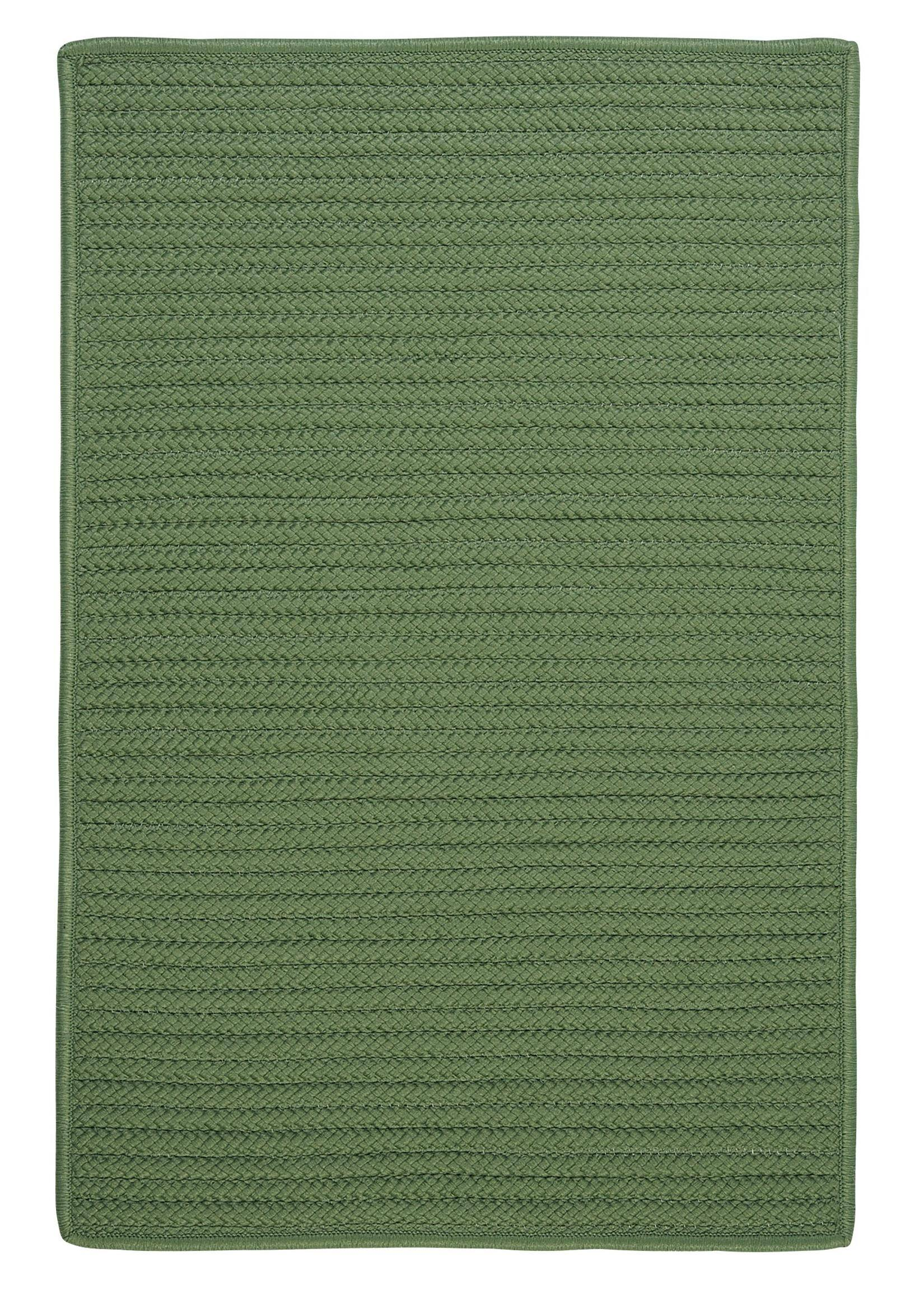 Colonial Mills Simply Home Solid H123 Moss Green Area Rug Carpetmart